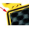 Peli Dichting voor Box 1200/1300 zwart